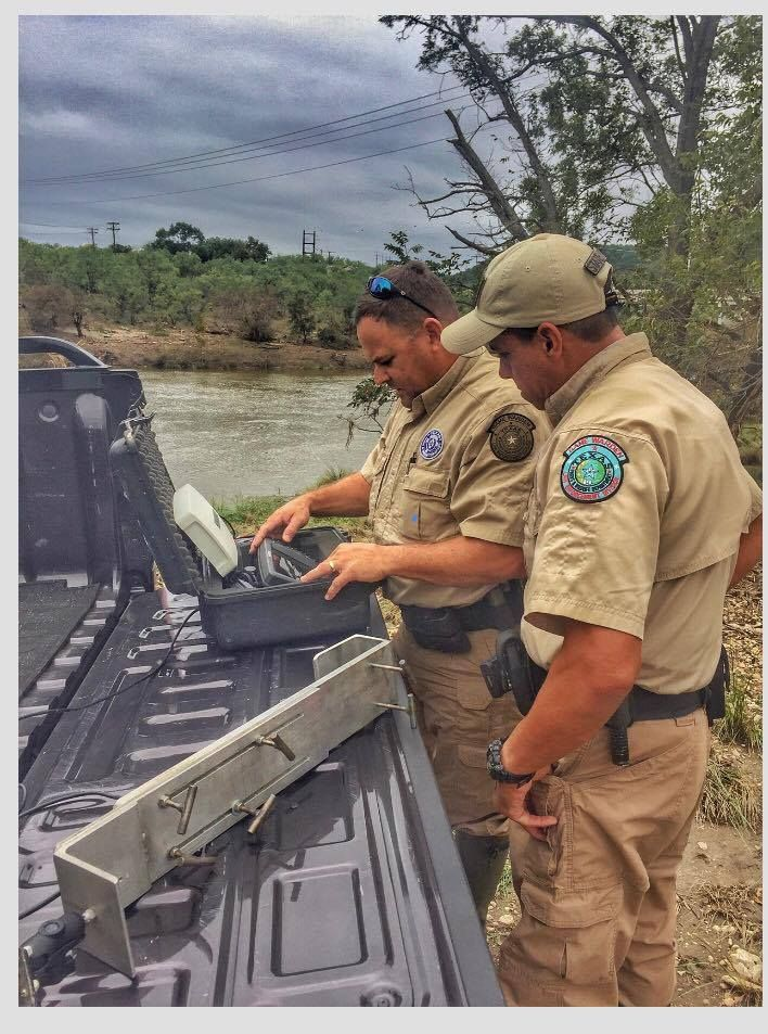 Texas Game Wardens Warden Country Boys Fishing Game
