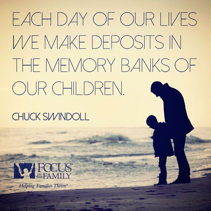 They say memories last a lifetime. Are the ones you're building with your family positive?