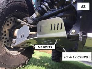 Yamaha Wolverine CV Boot/A-Arm Guards