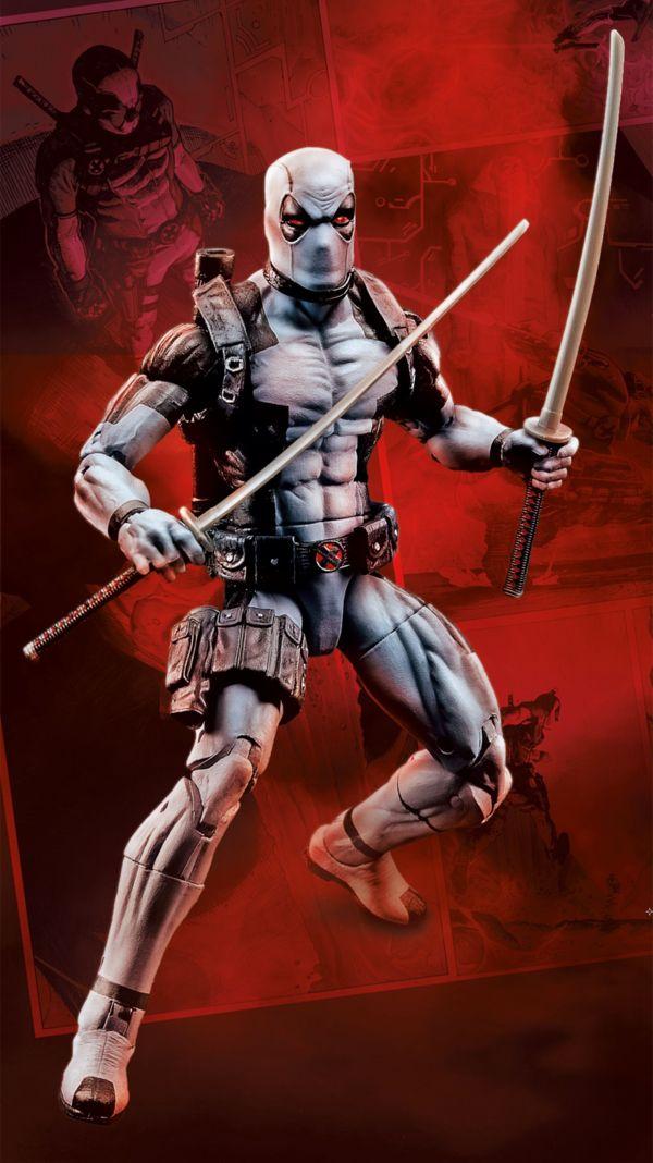 "2017 Convention Exclusive #Marvel Legends 6"" X-Force Deadpool Official Details #Marvel"