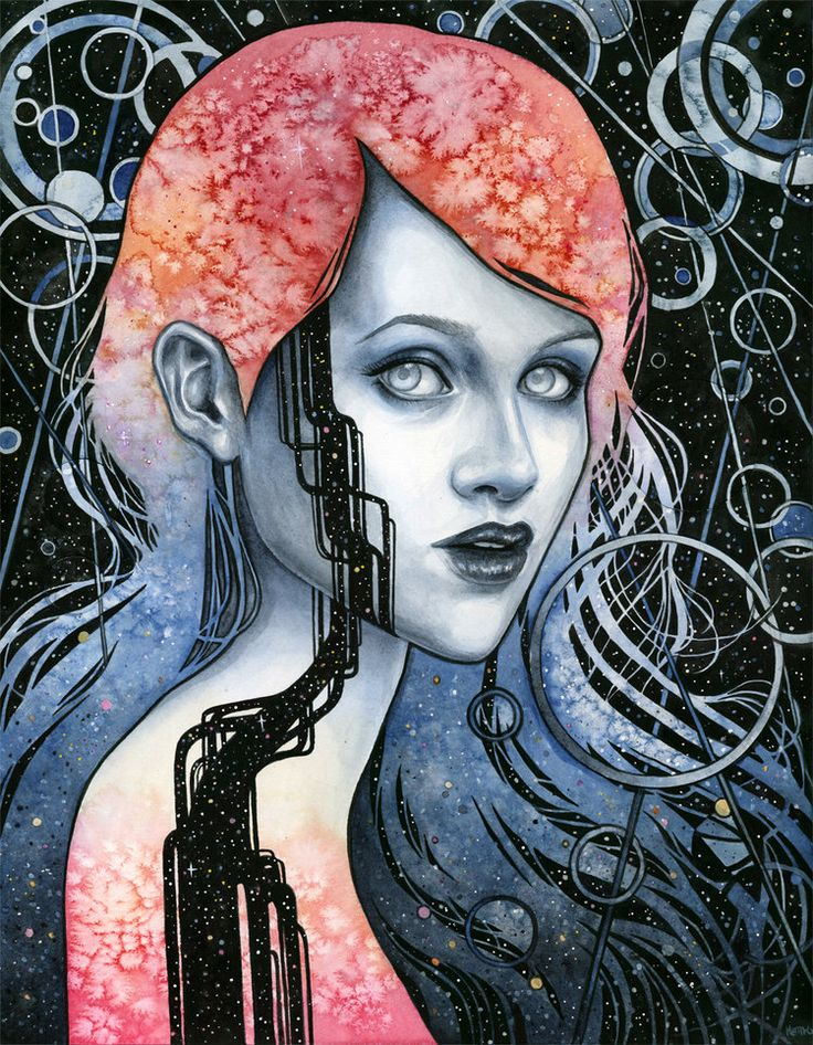 Proxy by Kelly McKernan Artist, Arch enemy