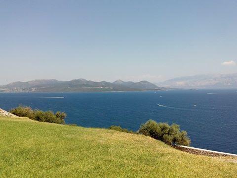Τhe beautiful view from Perigiali today #lefkada #lefkas #ionian #nature #island #green #birdview #greece #summer #holidays