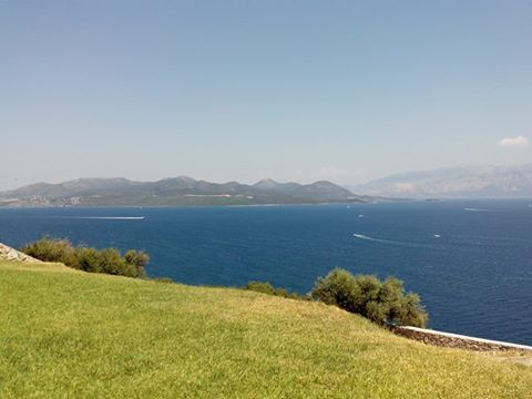 Τhe beautiful view from Perigiali today #lefkada #lefkas #ionian #nature #island #green #birdview #greece #summer #holidays