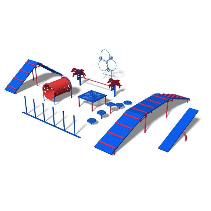 Shop Ultra Play 9-Activity Expert Dog Park Agility Course Kit at Lowes.com