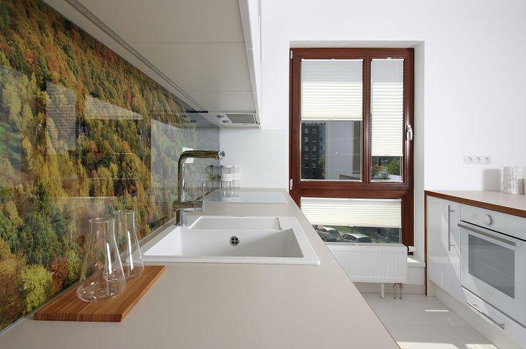 kitchen, living room, flat