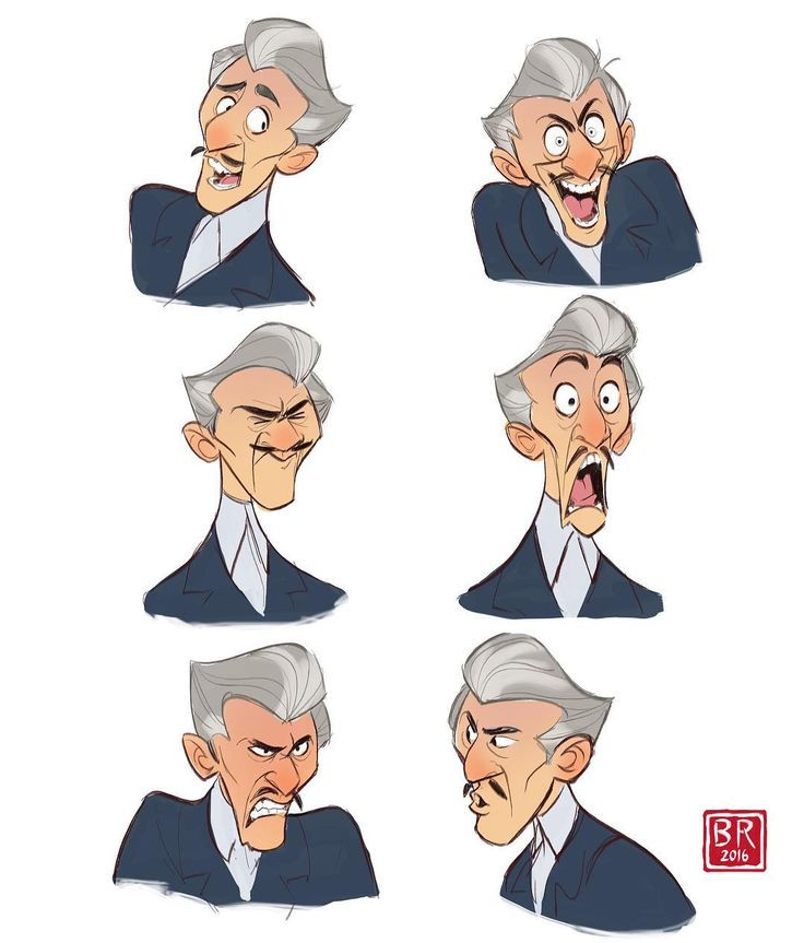 Character Design Essentials : Best illustration facial expressions references