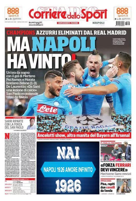 CorrieredelloSport Prima Pagina Ediz. Campania