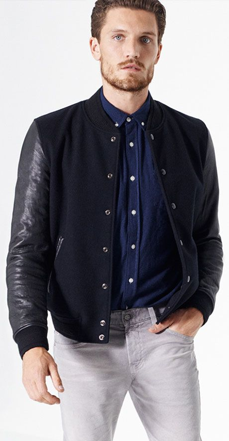 Designer Jackets for Men   AG Jeans