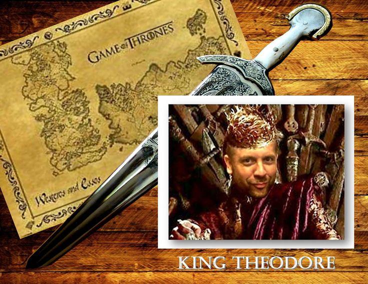 Teddy Wilson as King Theodore