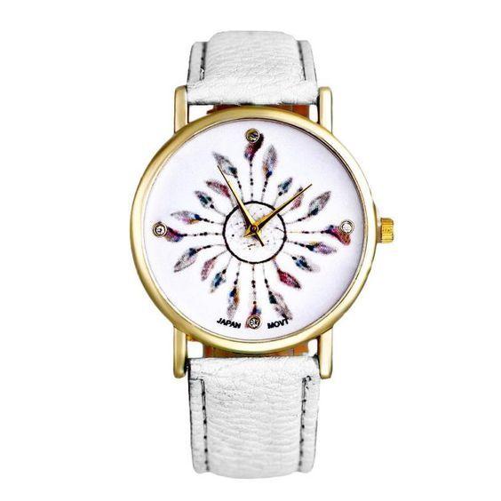 La montre tendance du moment! Idée cadeau à retenir! Superbe montre, unique en son genre. Mouvement à trois aiguilles.    Un jolie montre qui sublimera vos poignets en un clin d'oeil!!!    La montre parfaite à offrir ou s'offrir!    Emballage cadeau offert!