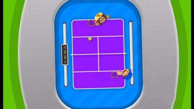Bang Bang Tennis, bel videogame tennistico in stile hockey da tavolo