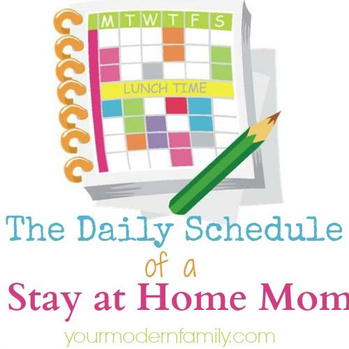 The daily schedule of a stay at home mom (& how to save time!)
