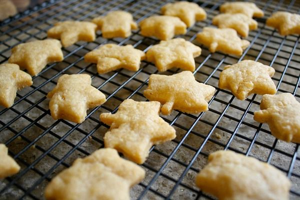 Cheese Snack Cracker Recipe~ Buggy and Buddy