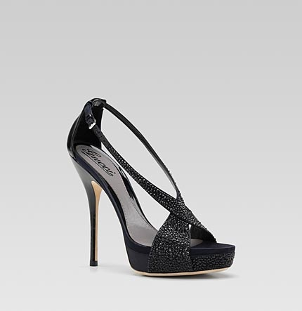 I need these lol: Heels Platform, Gucci Sandals, Black Heels, Sofia Etoil, High Heels, Etoil High, Strass Embroidery, Gucci Sofia, Platform Sandals