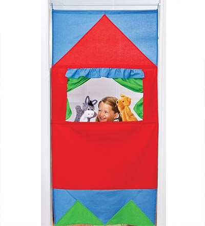 Doorway Puppet Theater - from Magic Cabin $39