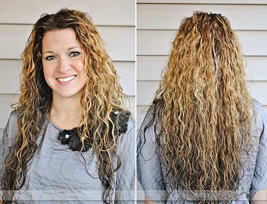 Use egg white to get curly hair - I tried it without the gel since I didn't have any at the time and it worked pretty good but didn't stay in. Next time I'll try with gel.