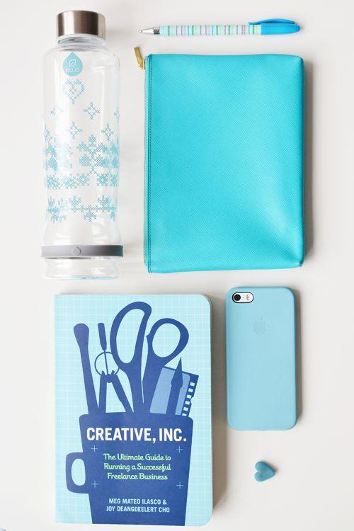 Lavivavera for EQUA bottle in blue #water #glassbottle #blue #pattern #fashion #accessoire