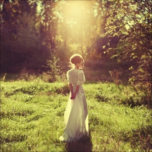 """""""The Secret Garden was what Mary called it when she was thinking of it. She liked the name, and she liked still more the feeling that when its beautiful old walls shut her in no one knew where she was. It seemed almost like being shut out of the world in some fairy place.""""― Frances Hodgson Burnett"""