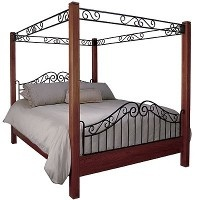Craftsman Canopy Bed