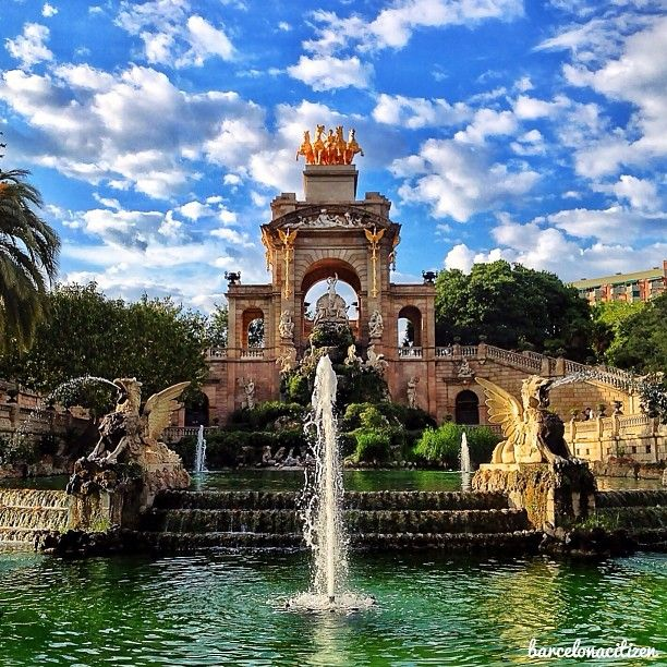Parc de la Ciutadella - fountains, grass, boating lake, golden horses, a giant mammoth... this park has the lot. A lovely place to take a wander.