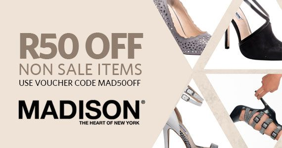 Get 50�0Off Shoes at Madison