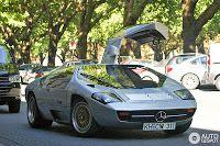 FAB WHEELS DIGEST (F.W.D.): 1978 Mercedes-Benz CW3111 Concept (Isdera Imperator 108i, 1984-93)
