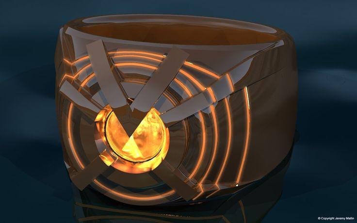 Orange Lantern Power Ring by JeremyMallin on DeviantArt