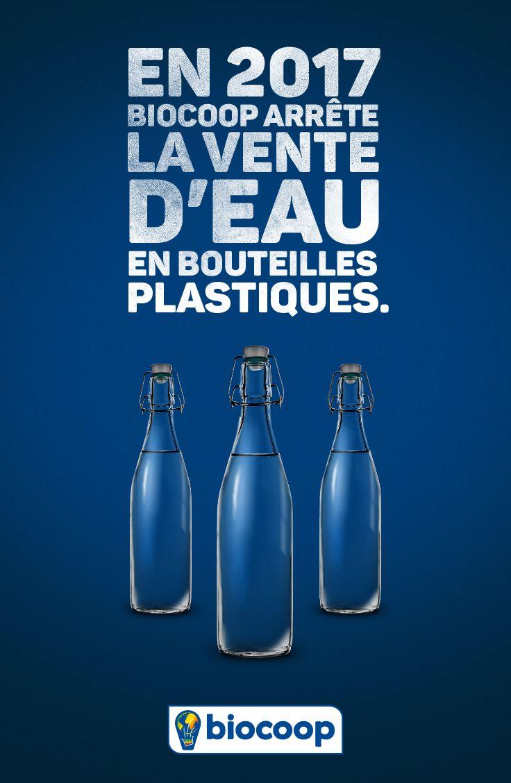 En 2017, Biocoop arrête la vente d'eau en bouteilles plastiques, et vous? Quelles astuces avez-vous pour réduire votre impact environemental?