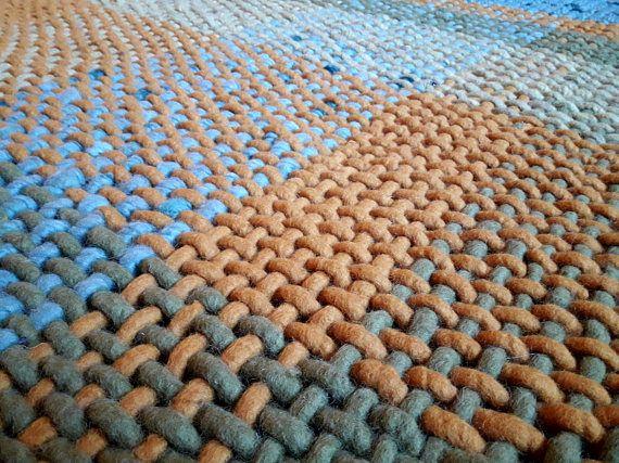 #homedecor  #scandinavian #woolrug https://www.etsy.com/listing/575792797/modern-rug-5x7-wool-woven-area-rug-green