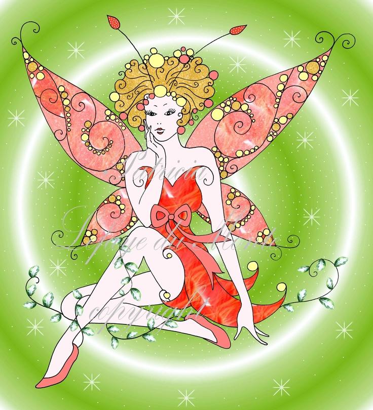 Fairyart by Patricia Lefaye du Monte *