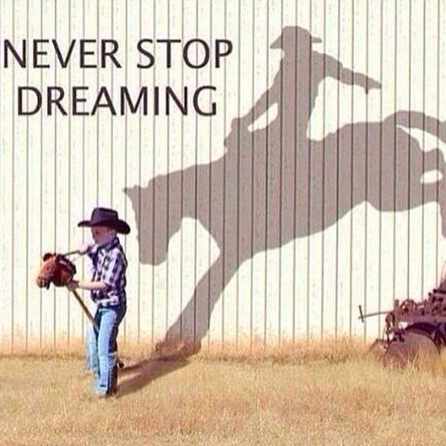 Future cowboy....