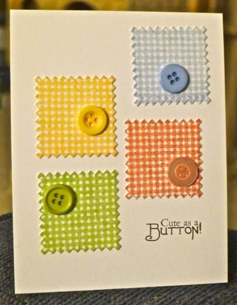 Cute as a Button FS284 by hskelly - Cards and Paper Crafts at Splitcoaststampers