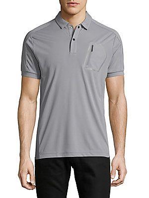 J. Lindeberg Short Sleeve Polo