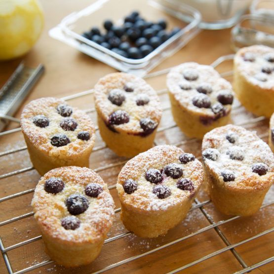 Almond and Coconut Friands by Nadia Lim | NadiaLim.com