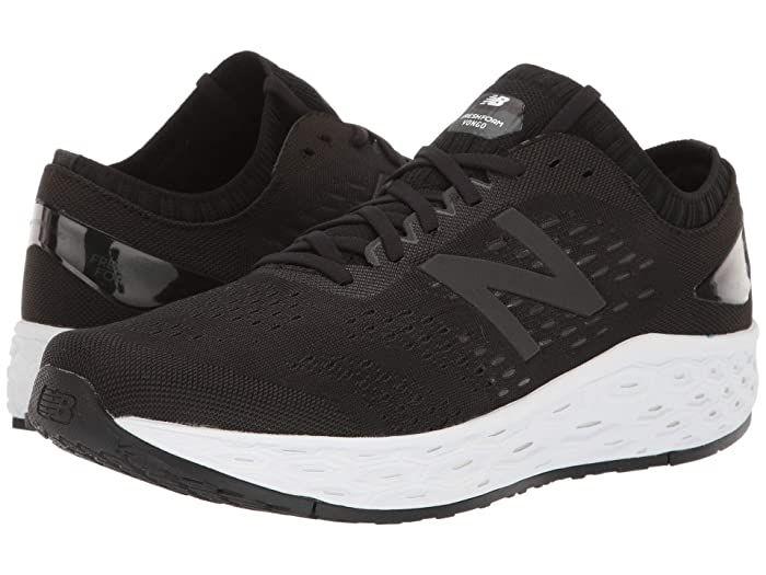 New Balance Fresh Foam Vongo V4 Black Black Metallic Men S Shoes The Updated New Balance Fresh Foam Vongo New Balance Fresh Foam Mens Shoes Black New Balance