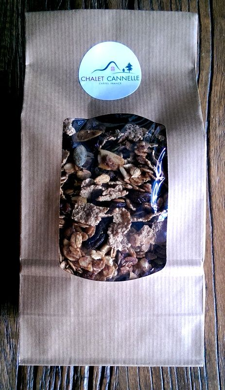 Chalet Cannelle granola...now available to take home as well as enjoy for breakfast at the chalet!