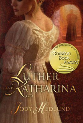Thrilled that LUTHER AND KATHARINA won the 2016 Christian Book Award® for the fiction category!