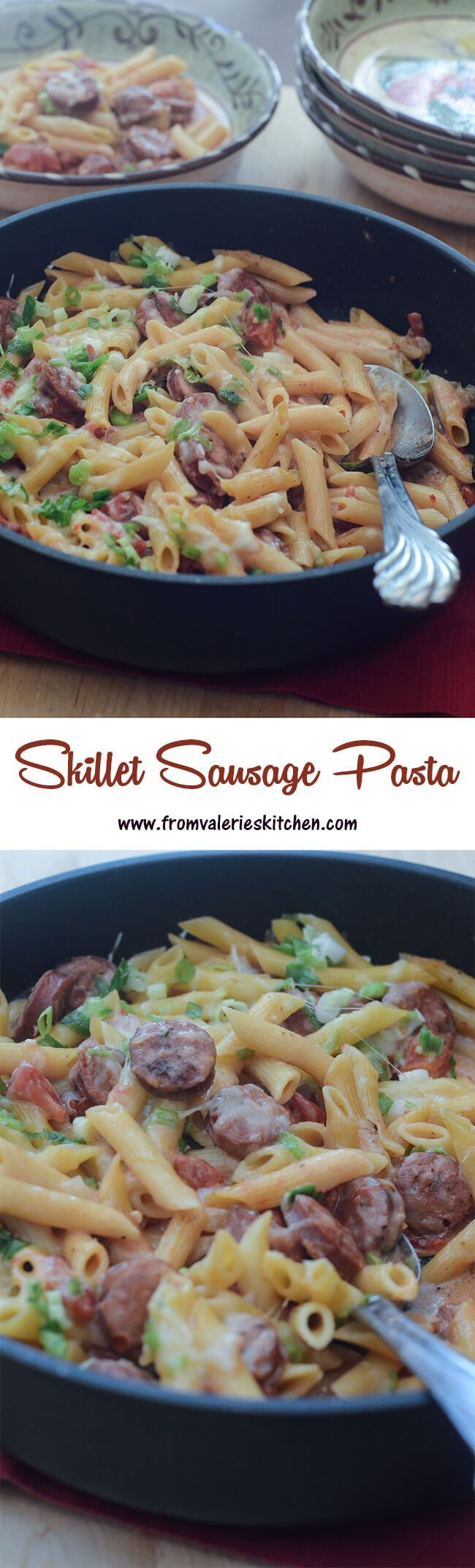 Cooks all in one pot in 30 minutes! ~ http://www.fromvalerieskitchen.com