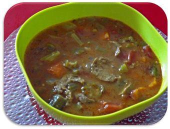 Southern Nights Slow Cooker Veggie-Sausage Gumbo Recipe