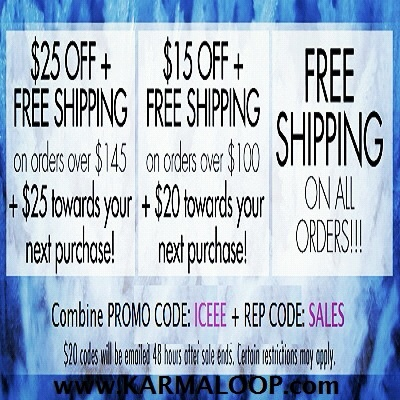 Get $25 Off & Free Shipping + $25 Giftcode on orders $145 or more at Karmaloop. Combine RepCode: SALES & PromoCode: ICEEE. For more Karmaloop codes, visit http://www.Karmaloop-Codes.com #karmaloop #discounts #coupon #freeshipping #25off #giftcode