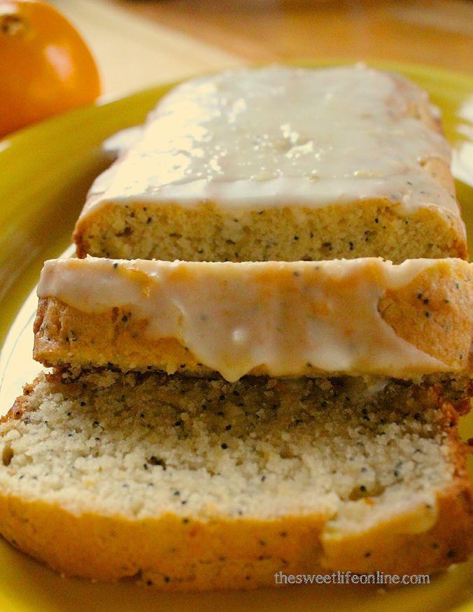 Orange Poppy Seed Cake   The Sweet Life #vegan #Baking