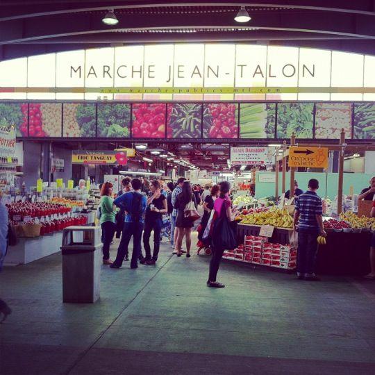 Marché Jean-Talon in Montreal, QC