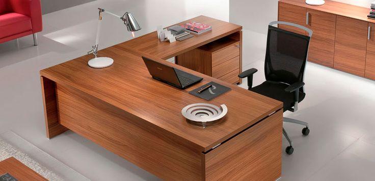 Quando en l -- Características: Quando es un escritorio recto fabricado con melamina de alta resistencia. Infórmate más sobre este mueble dándole clic a la imagen.