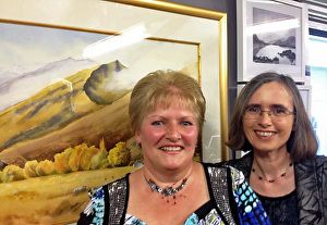 Opening Night for Gallery and Exhibition of 100 PAINTINGS IN 100 DAYS