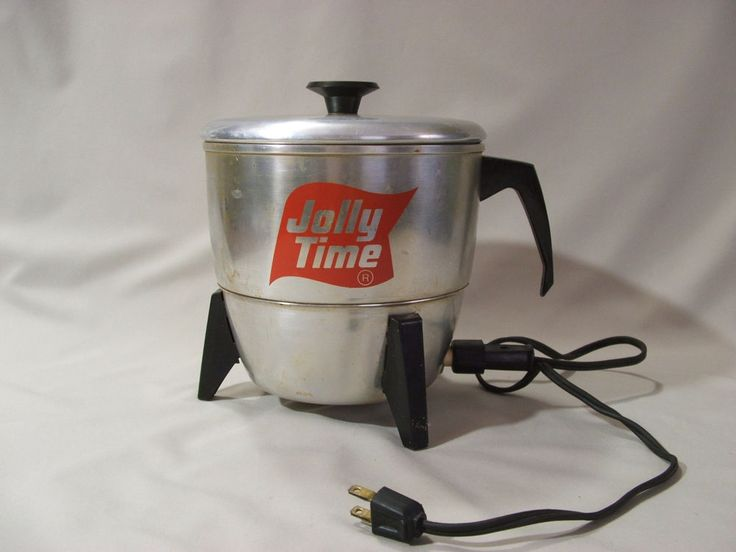 Vintage Mirro Matic Jolly Time Electric Popcorn Popper