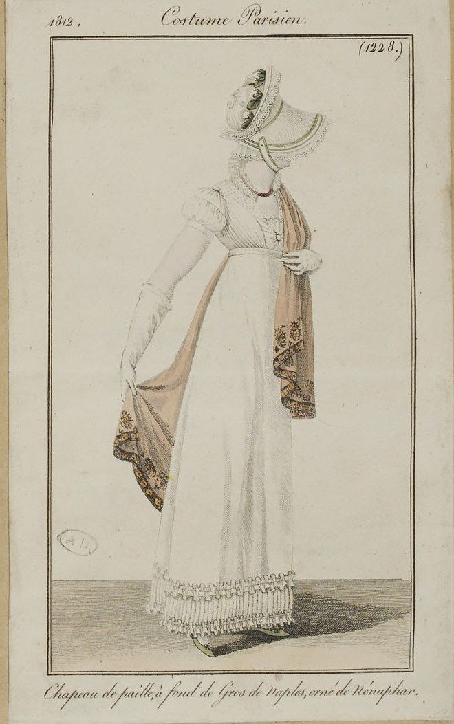 Journal des dames et des modes / Costume Parisien: 15 Mai, 1812 (2b).