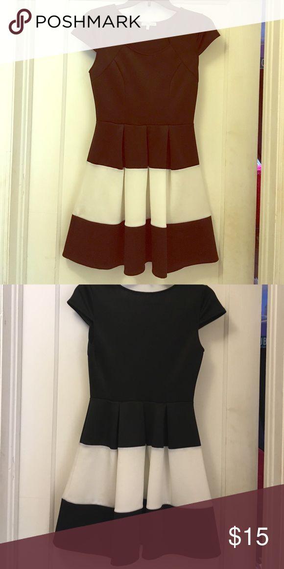 Black and white mini dress Black and white mini dress by Charlotte Russe Charlotte Russe Dresses Mini