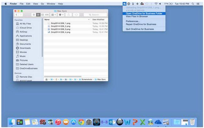 Microsoft anuncia OneDrive para Negocios en Mac OS X e integra ese servicio en su app para iOS
