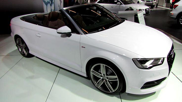 2015 Audi A3 TFSI S-Line Cabriolet - Exterior and Interior Walkaround - ...