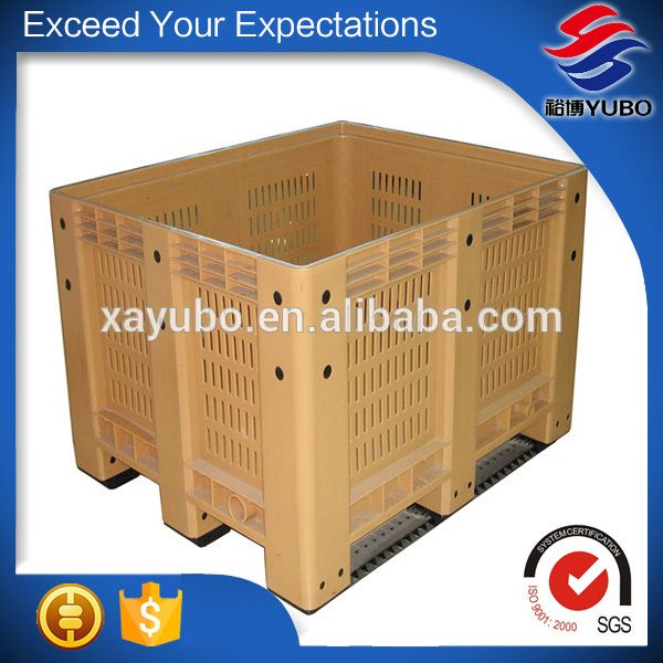 Vegetable Plastic Pallet Box For Sale